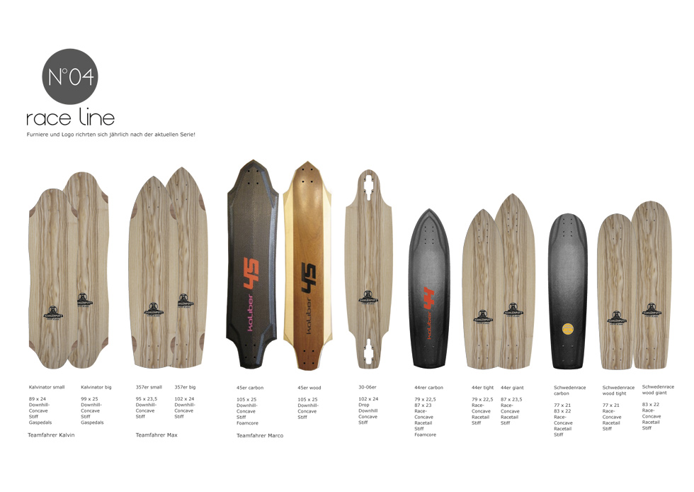 kaliber skateboards - Race Line 2014
