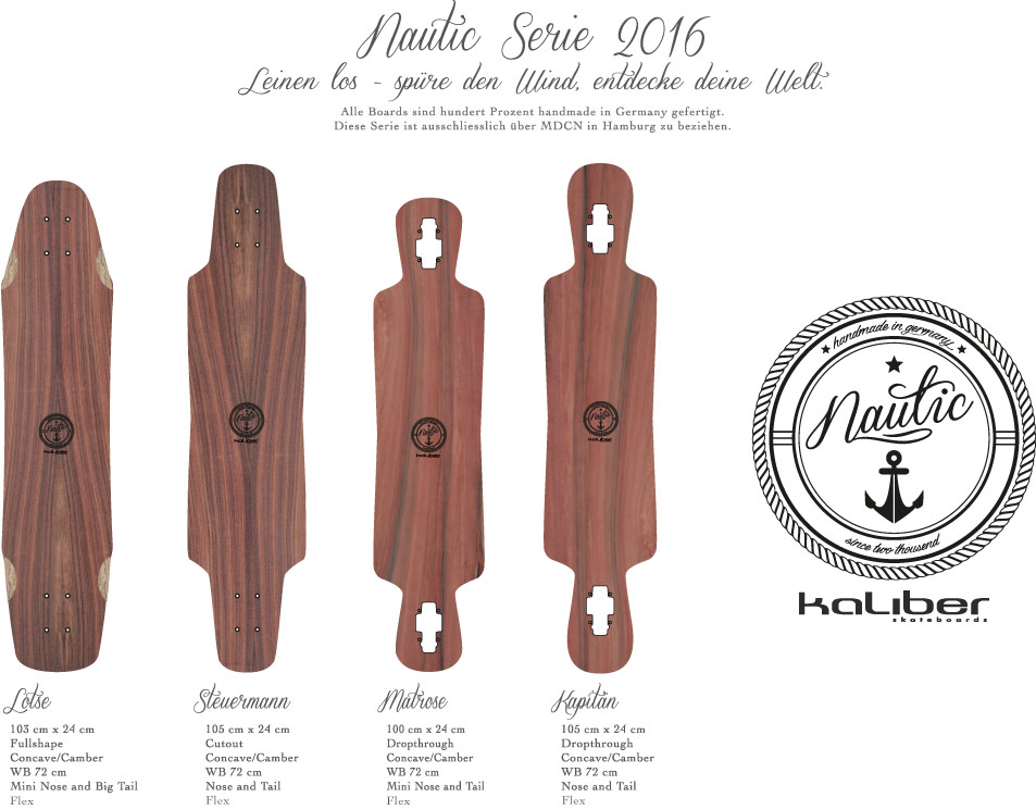 kaliber skateboards - Nautic Serie